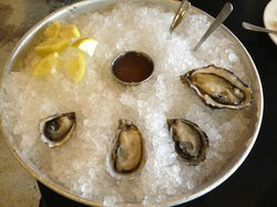 The oysters we tried