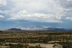 View from Villa Terlingua looking toward Big Bend National Park