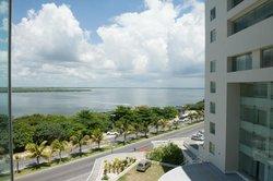 Vista do Corredor e alguns apartamentos