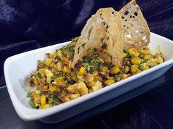 Tofu and Makai bhurjee, a home tradition
