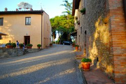 Beautiful buildings of Al Gelso Bianco