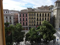 Pension Gomerez Gallegos - View from the room
