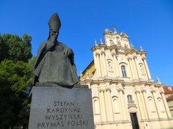 Monument to Cardinal Stefan Wyszynski