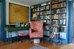 The Library in the Main guesthouse