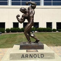 Statue of Arnold Schwarzenegger