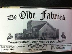 De Olde fabriek