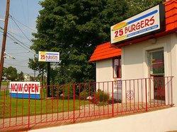 Twenty-Five Burgers