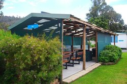 Discovery Holiday parks Mornington Hobart: picnic area