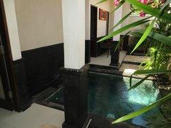 piscina interna alla nostra camera