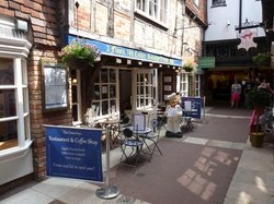 The Cross Keys Restaurant, Coffee Shop & Tea Rooms