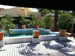 La piscine tranquille..