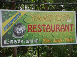 Yaan Oya Restaurant