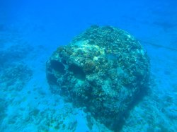 the boiler from the wreck