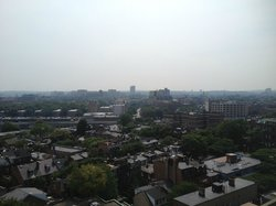 12th floor view from bedroom