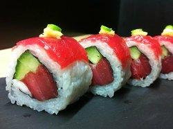 In sushi bar