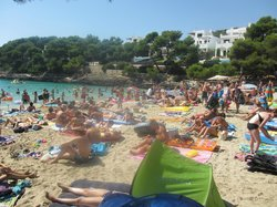 Nice beach but it can get a bit crowded