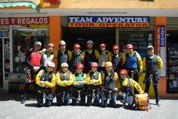 Team Adventure Banos Ecuador
