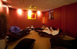 The relazation room at Reflections Day Spa