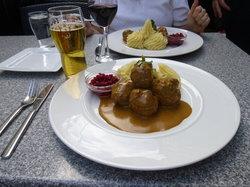 Swedish Meatball Entree