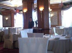 no restaurante