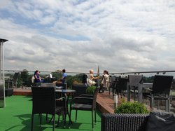 The Roof Terrace at The Varsity Hotel & Spa