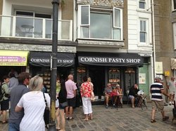 Cornish Pasty Shop, St Ives.