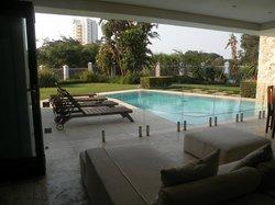 piscina e zona relax