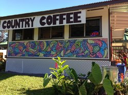 Country Coffee at Rainbow Falls