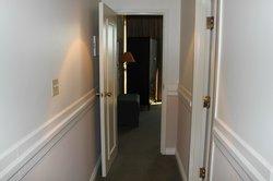 Hallway to the bedroom