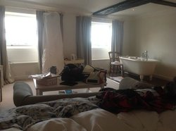 lovely room...ignore our mess!!