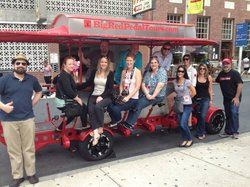 Big Red Pedal Tours