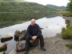 resting on Loch Lubnaig
