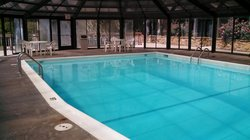 great size heated pool