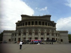 The Armenian National Academic Theater of Opera and Ballet named after Alexander Spendiaryan