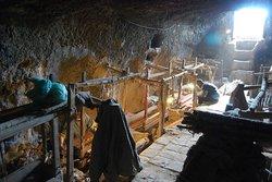 Underground manmade caves