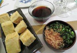 Agedashi Tofu at Shokudo San Telmo