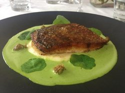 delicious fish, beautifully presented!