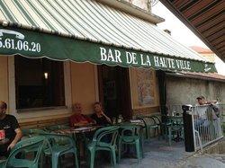 Bar de la Haute Ville