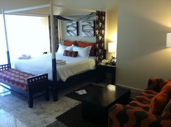 our room, upon arrival