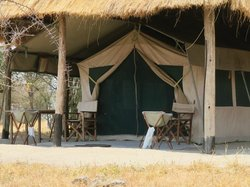Tent entrance