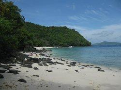 Banana Beach (panorámica de toda la playa)