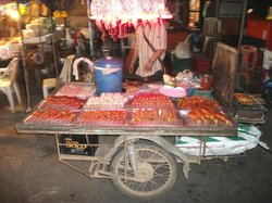 Patak Road Food Stalls