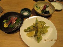 Charcoal cuisine and fish Mataza