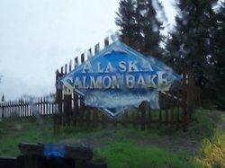 The Alaska Salmon Bake at Pioneer Park