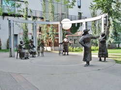Famous Five Statues