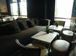 bar area...