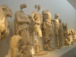 Hermes by Praxiteles