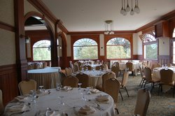 Dining room for weddings and such