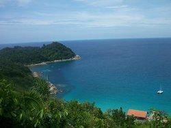 point de vue en allant de long beach au D lagoon