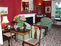 A glimpse of the dining room